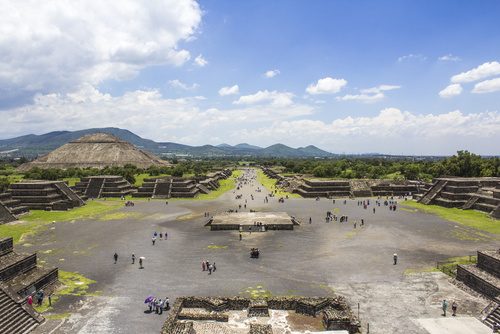 Teotihuacan, Mexico City, Ancient Mesoamerican Pyramids