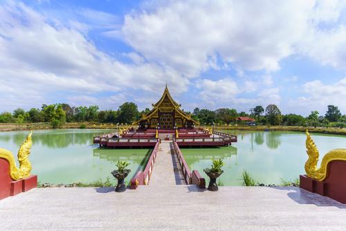 Pa Lahan Sai temple , Buriram Province , Thailand (  Foreign tex